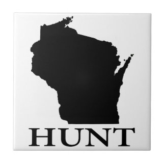 Hunt Wisconsin Small Square Tile