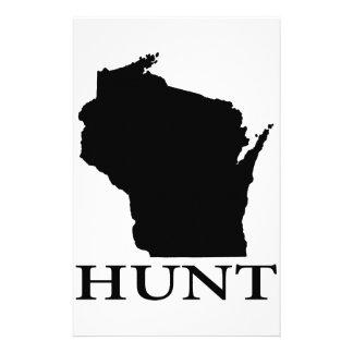 Hunt Wisconsin Stationery