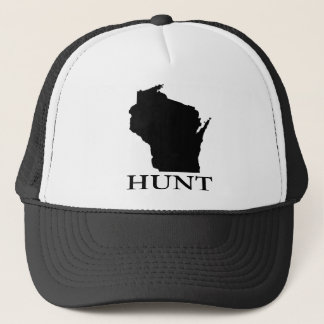 Hunt Wisconsin Trucker Hat