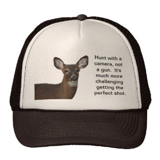 Hunt with a camera deer trucker's hat