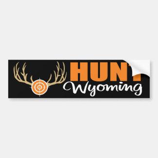 Hunt Wyoming Bumper Sticker
