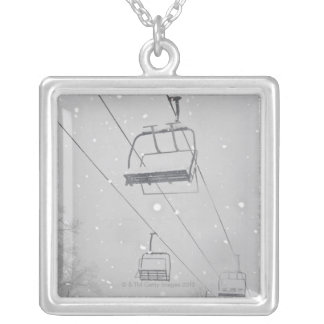 Hunter 3 silver plated necklace