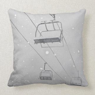Hunter 3 throw pillow