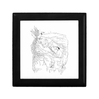 Hunter and Pheasant Ukiyo-e Gift Box