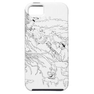 Hunter and Pheasant Ukiyo-e iPhone 5 Covers