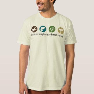 Hunter Angler Gardener Cook T-Shirt (white)