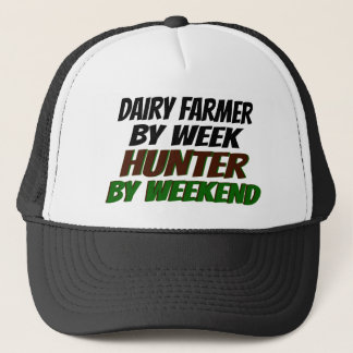 Hunter Dairy Farmer Trucker Hat