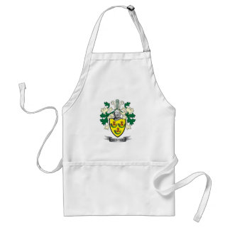 Hunter Family Crest Coat of Arms Standard Apron