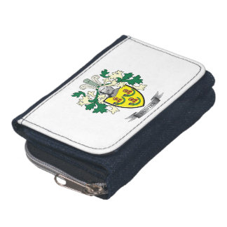 Hunter Family Crest Coat of Arms Wallet
