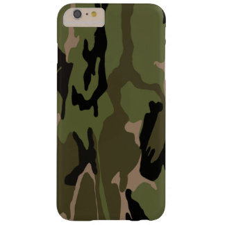 Hunter Green Camo Barely There iPhone 6 Plus Case