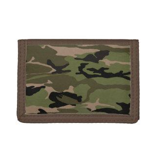 Hunter Green Camo Tri-fold Wallet