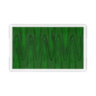 Hunter Green Design Acrylic Tray