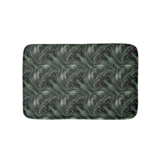 Hunter Green Digital Bath Mats
