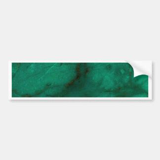 Hunter Green Marble Bumper Sticker