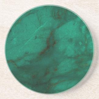 Hunter Green Marble Coaster
