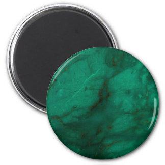 Hunter Green Marble Magnet