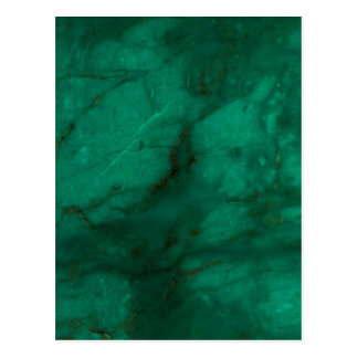 Hunter Green Marble Postcard