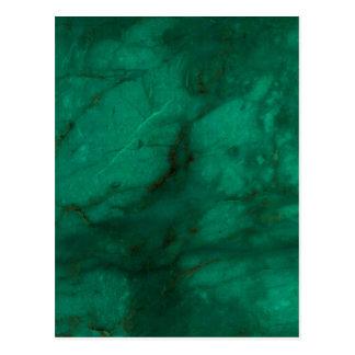 Hunter Green Marble Postcard