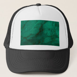 Hunter Green Marble Trucker Hat