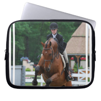 Hunter Horse Show Electronics Bag Laptop Computer Sleeve