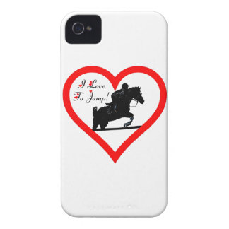 Hunter Jumper, Horse and Rider Blackberry Bold Cas iPhone 4 Case-Mate Cases