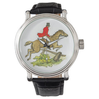 Hunter Jumper Horse Fox Hunting or Trail Ride Watches