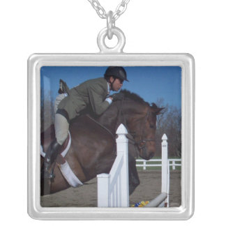 Hunter Jumper Horse Necklace