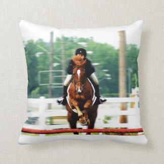 Hunter Jumper Pillow Throw Cushions