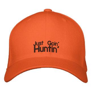 Hunter Orange Cap Embroidered Hat