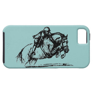 Hunter Over Fences iPhone 5 Tough iPhone 5 Case