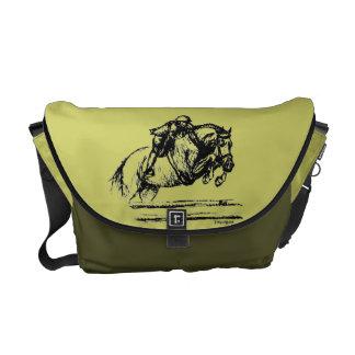 Hunter Over Fences Jumping Horse Commuter Bag