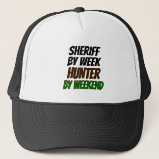 Hunter Sheriff Trucker Hat