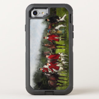 Hunter - The fox hunt - Tally-ho 1924 OtterBox Defender iPhone 8/7 Case