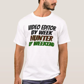 Hunter Video Editor T-Shirt