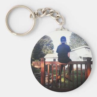 Hunter Wood Keychain