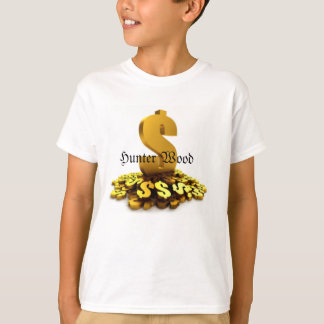 Hunter Wood Money Sign Shirt