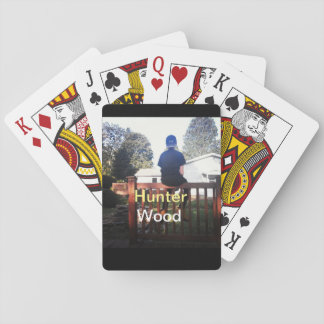 Hunter Wood Playing Cards Full Pack