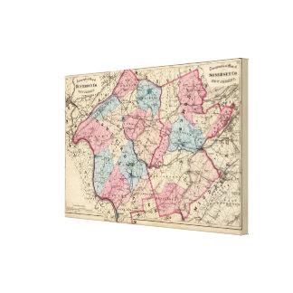 Hunterdon, Somerset Cos, NJ Stretched Canvas Prints