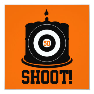 Hunter's 50th Birthday - Hunting Invitation