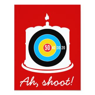 Hunter's 50th Birthday Target Invitation
