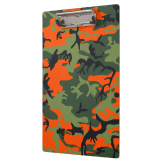 Hunters Camouflage Pattern Clipboards