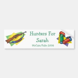 Hunters for Palin  Bumper Sticker