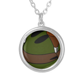 Hunter's Hat Silver Plated Necklace