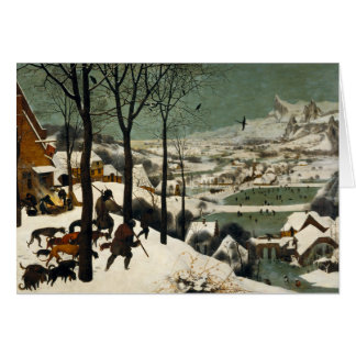 Hunters in the Snow by Pieter Bruegel the Elder Card