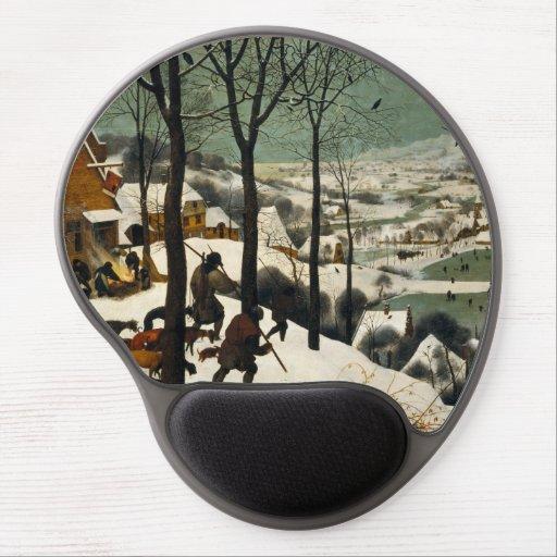 Hunters in the Snow by Pieter Bruegel the Elder Gel Mouse Mat