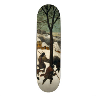 Hunters in the Snow by Pieter Bruegel the Elder Skate Deck