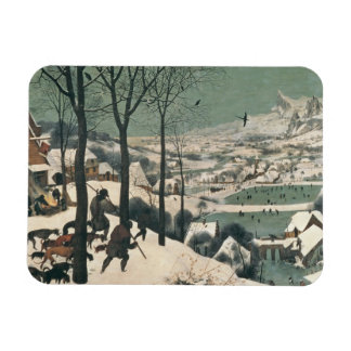 Hunters in the Snow - January, 1565 Magnet