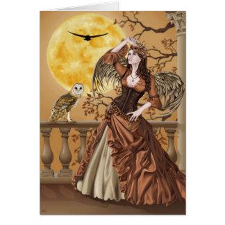Hunter's Moon - Greeting Card