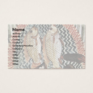 Hunting And Fishing Details: Pisces By Maler Der G Business Card
