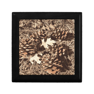Hunting Camo Camouflage Gifts for Hunters Small Square Gift Box